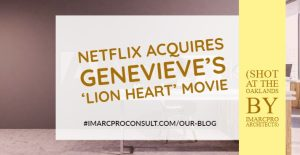 Netflix acquires Genevieve's 'Lion Heart' Movie (shot at The Oaklands by iMarcPro Architects)