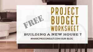 PROJECT BUDGET WORKSHEET – [Free Download 1]